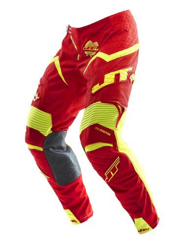 JT Racing USA Evolve Protek Dirt Bike MX Motocross Pants with Fader Graphics (Red/Yellow, Size 42) - https://www.caraccessoriesonlinemarket.com/jt-racing-usa-evolve-protek-dirt-bike-mx-motocross-pants-with-fader-graphics-redyellow-size-42/  #Bike, #Dirt, #Evolve, #Fader, #Graphics, #Motocross, #Pants, #Protek, #Racing, #RedYellow, #Size #Motorcycle, #Pants