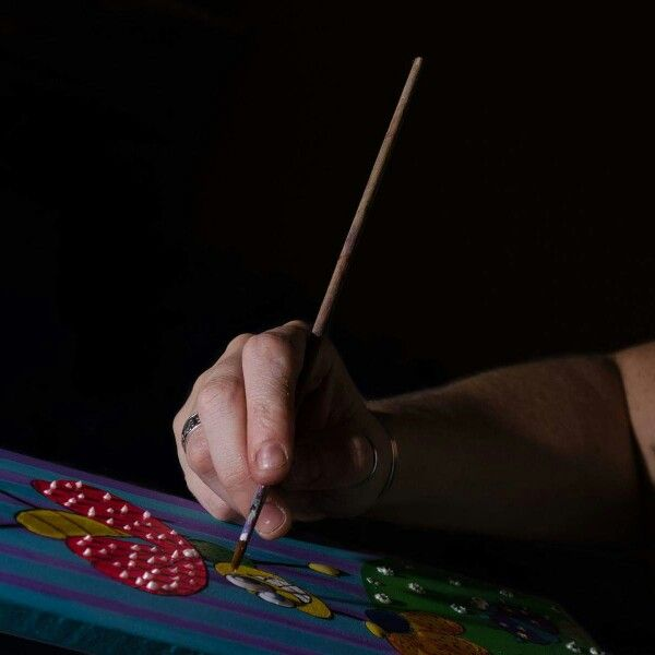 La mano del artista