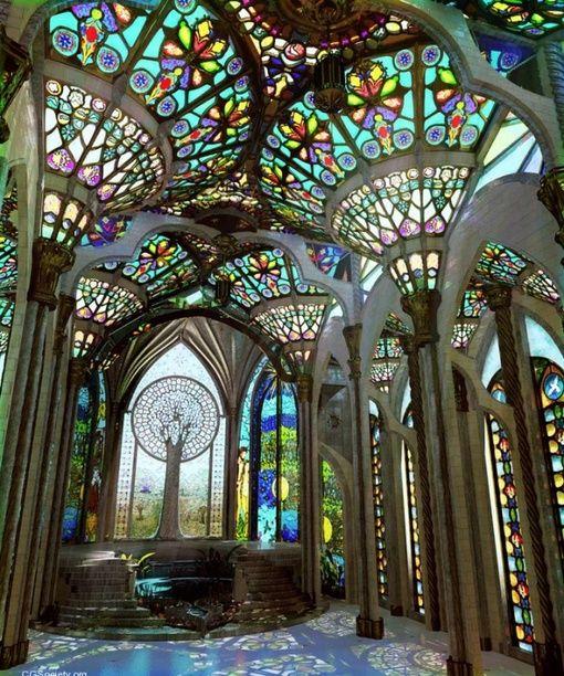 ステンドグラスのインテリア glass interior