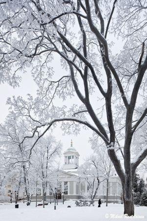 Winter in Helsinki.