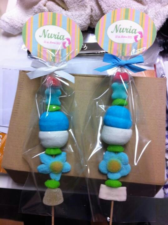 Brochetas: Arreglos Gominolas, Party, Ideas Para, Parties Ideas, Baby Shower