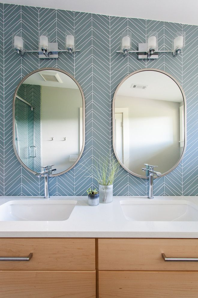 20 Best Oval Mirror Ideas for your Bathroom  Bathroom