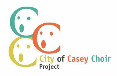 Logo for City of Casey Choir Project #logoinspiration