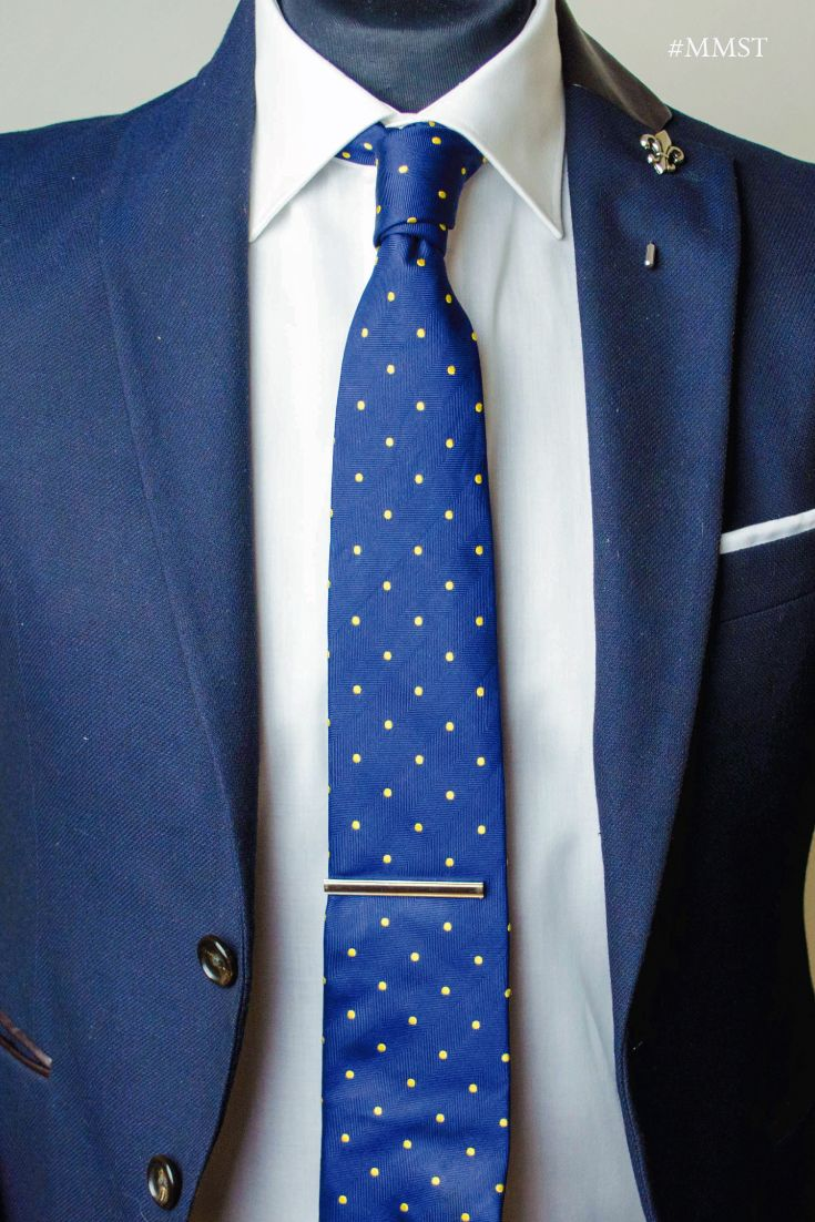 Find This Pin And More On How To Wear A Tie Clip