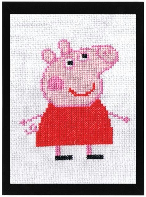 1000 images about cros stitch embroidery end sewing for kids on pinterest perler bead - Fusee peppa pig ...