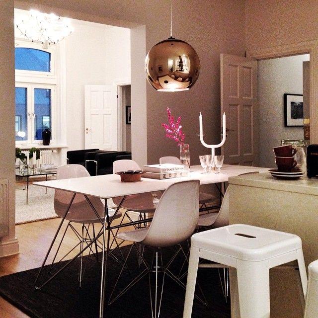 home i interior i furniture i eating i runde kupfer leuchte i design i copper shade lighting by. Black Bedroom Furniture Sets. Home Design Ideas