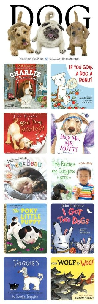 these are the cutest picture books about dogs -- LOVE!! | imaginationsoup #Books #Kids #Dogs