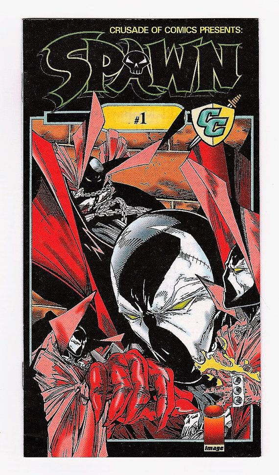 Crusade of Comics Presents Spawn 1 NM Todd by ComicGoRound on Etsy