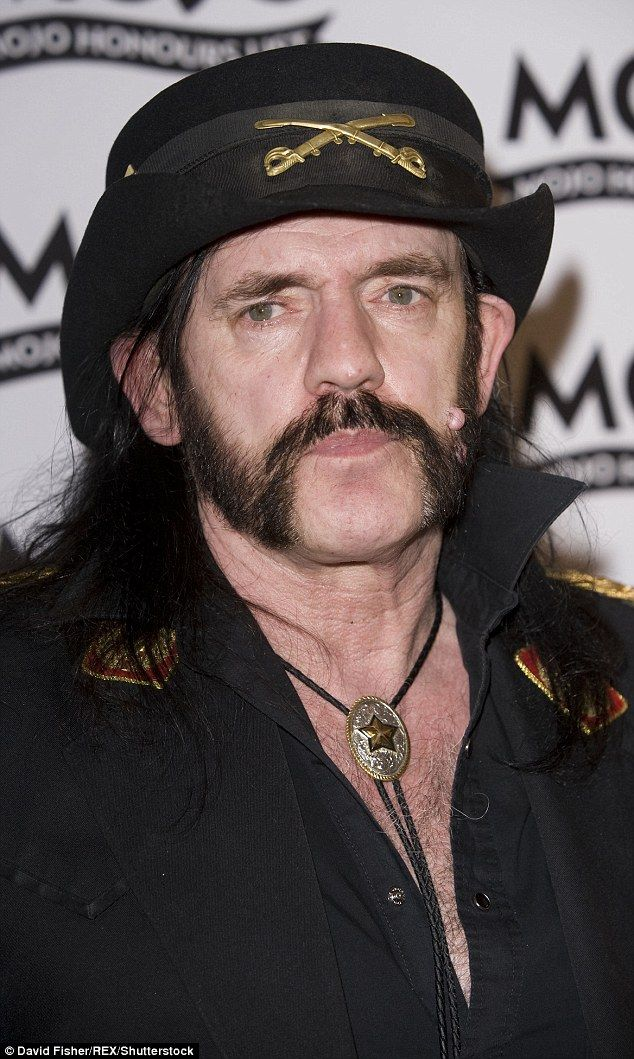 An music icon: Motörhead frontman Lemmy Kilmister has died aged 70, just two days after finding out he had cancer