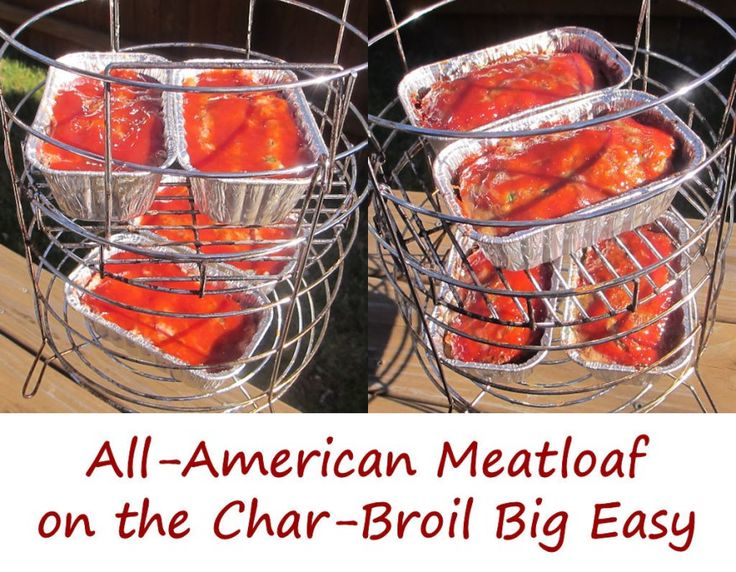 I'm finding cooking meatloaf on the Char-Broil Big Easy to be rather addicting. It's so easy to do that I do it often. But, I have to mix it up. And although our mini habanero meatloaves are truly epically fantastic, sometimes I gotta make something a bit more traditional. And what's more traditional than all-American meatloaf? Nothing.