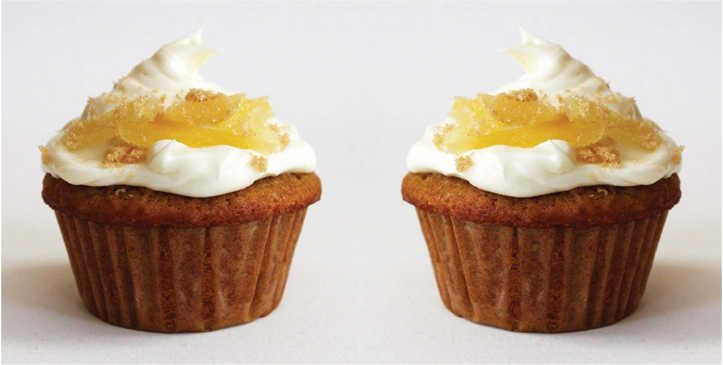 Parsnip Cupcakes with Cream Cheese Frosting