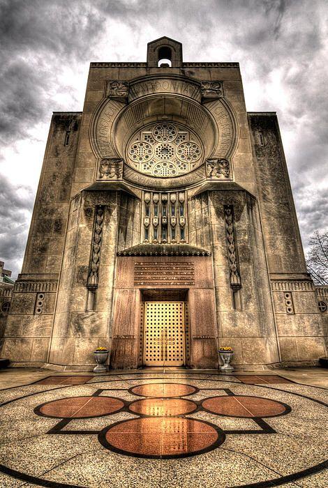 The Madonna della Strada Chapel @ Loyola University Chicago by Greg Thiemeyer Photography