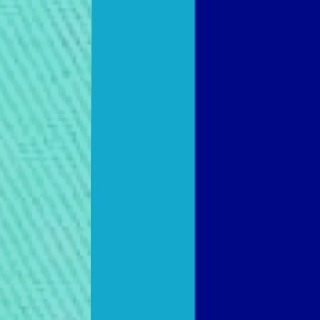 These are essentially the colors I wish to use for the theme of this summer wedding (Tiffany's blue, turquoise, and royal blue) all remind me of the water, a very important part of my summer. Many people can relate to the various types of activities present, be it water skiing, cliff diving, or simply relaxing by the beach. There is nothing more summer than the bright colors of the water