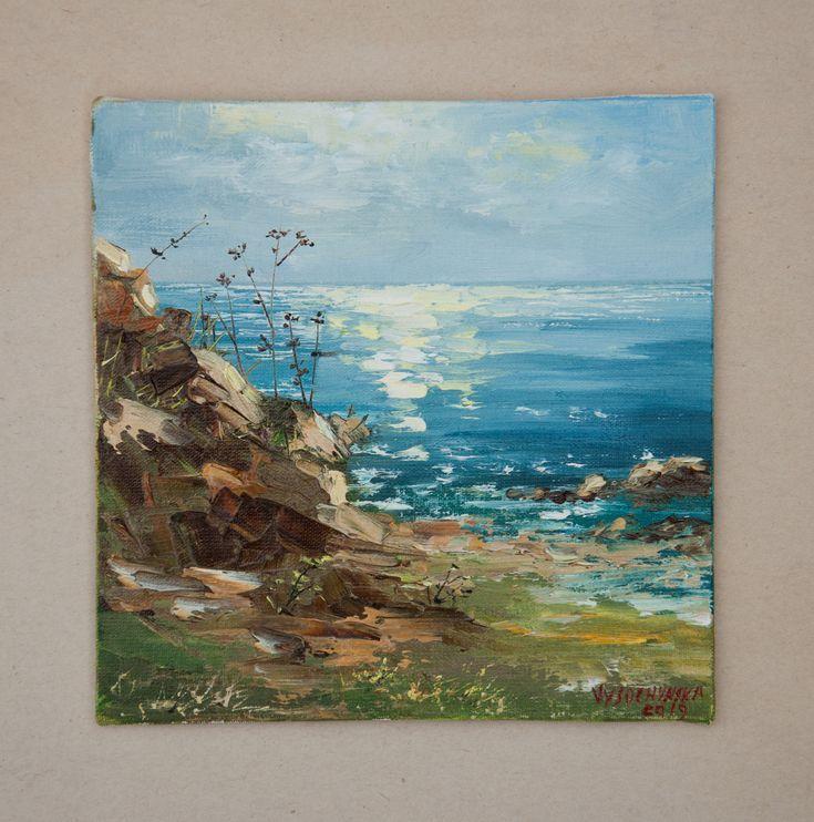 Shop Ocean Oil Paintings On Wanelo Landscape Paintings Ocean Painting Ocean Waves Painting