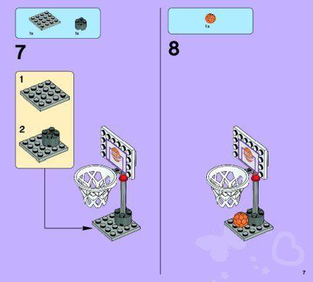 Istruzioni per la Costruzione - LEGO - Friends - 41005 - Il liceo di Heartlake: Page 1