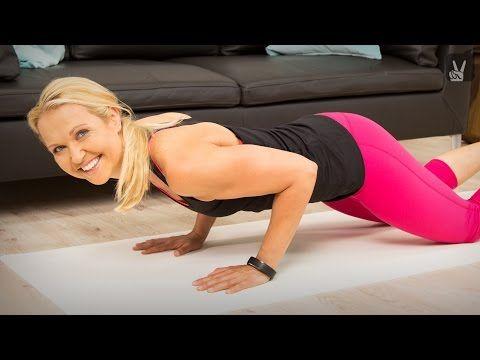 Workout: Oberarmtraining für feste Arme