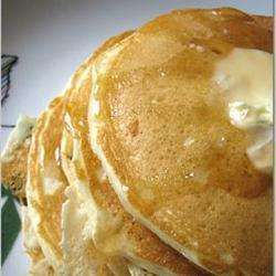 Amerikaanse pannenkoeken met karnemelk