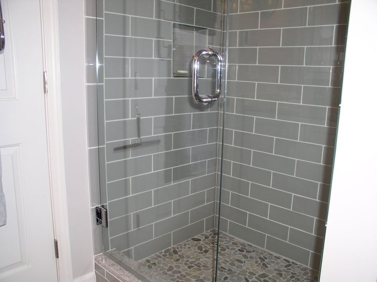 Smoke Glass 4 Quot X 12 Quot Subway Tile In 2019 Shower Tile