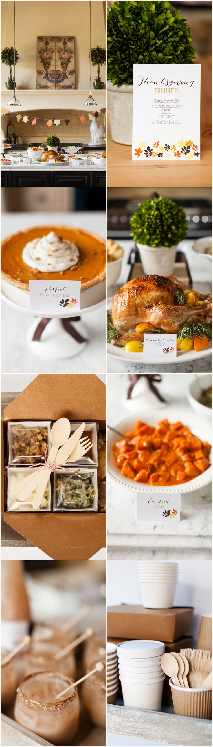 Thanksgiving Dinner Ideas, Recipes + Free Printables :: The TomKat Studio for @HGTV http://www.thetomkatstudio.com/hgtvythanksgiving/