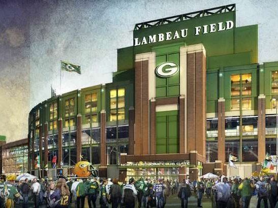 Lambeau Field to cheer on the Green Bay Packers !