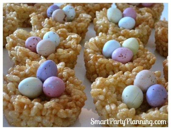 Honey joys are easy to make and the kids will love them. They also make cute Easter desserts for the entire family.