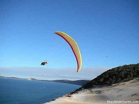 Rainbow Beach Paragliding - Epic Horizon Paragliding Australia.    Epic Horizon Paragliding Australia. We offer Paragliding instruction, Tandem flights, Paragliding tours and guiding. Based On the Sunshine Coast, Noosa, Queensland, Australia. Just 1.5 hours from Brisbane   #airnzsunshine