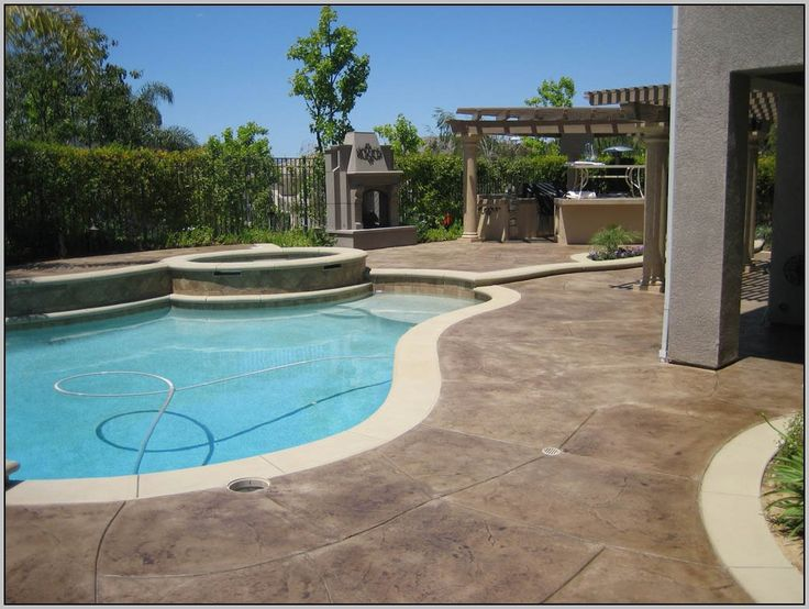 Best 25+ Painted Concrete Patios Ideas On Pinterest