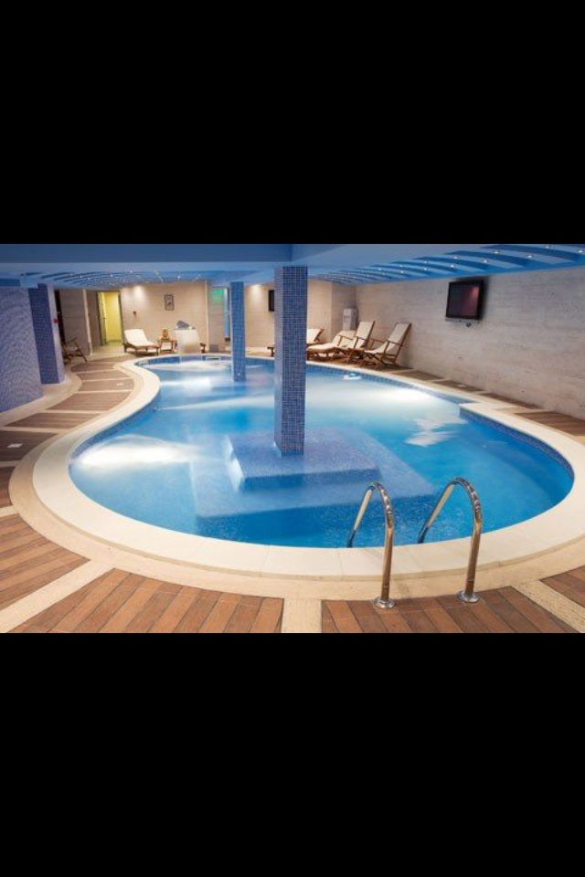 89 best indoor pool images on pinterest indoor pools for Basement swimming pool ideas