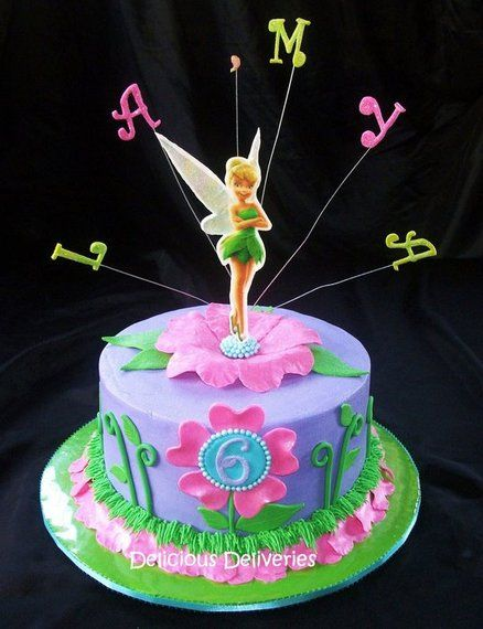 pics of tinkerbell cakes