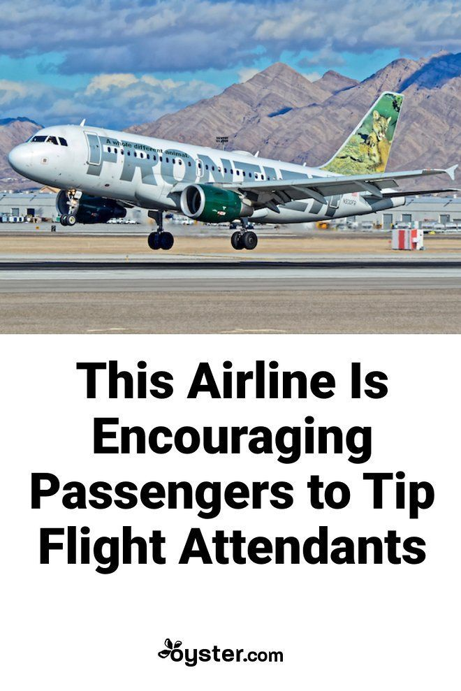 Frontier Airline Is Asking Passengers To Tip Flight Attendants