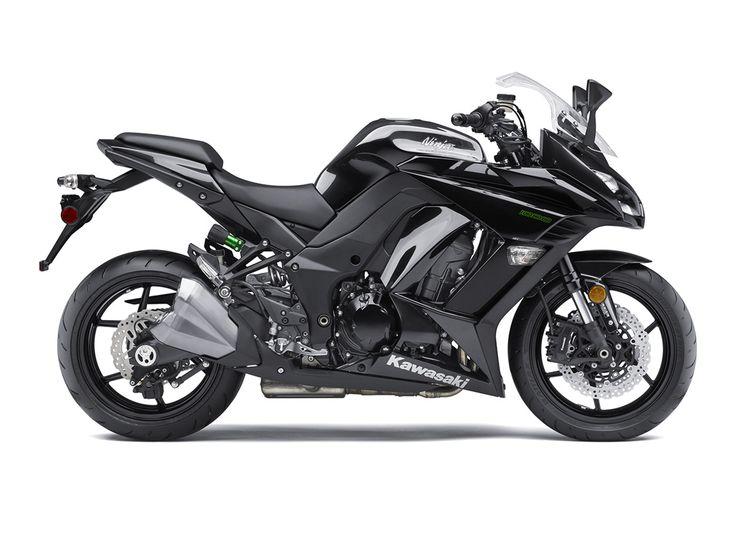 2016 Ninja® 1000 ABS Metallic Carbon Gray/Metallic Spark Black