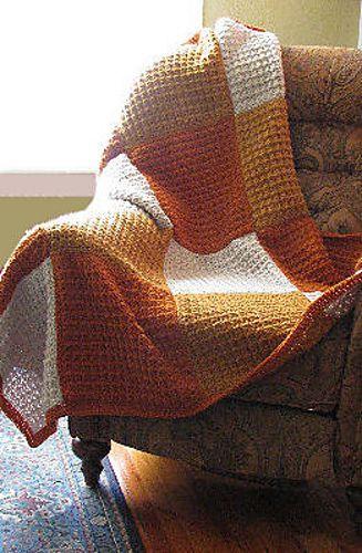 Becky's Blocks Afghan pattern by C.L. Halvorson