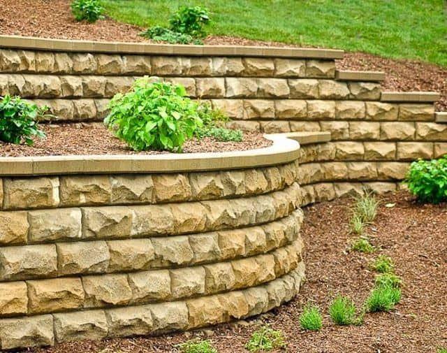 92 best Retaining Wall Ideas images on Pinterest | Concrete block ...