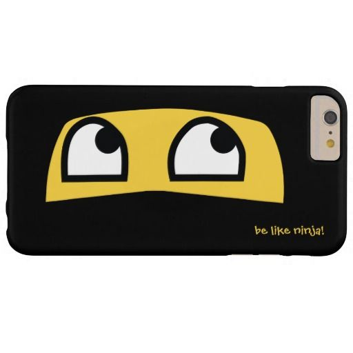Cute lil Ninja emoji IPhone 6 or 6S case. Also available for many other popular cell phone models and Ipad and Ipod.