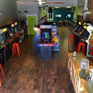Neon Retro Arcade - Thrillist