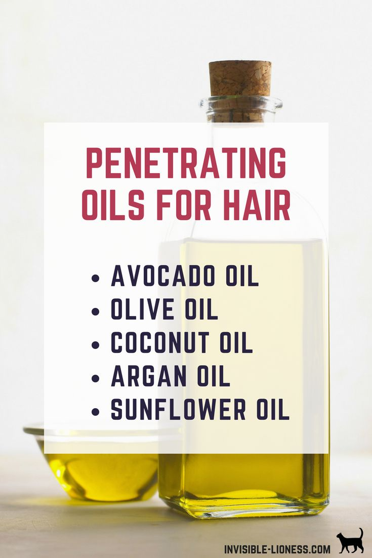 The 11 best oils for your hair