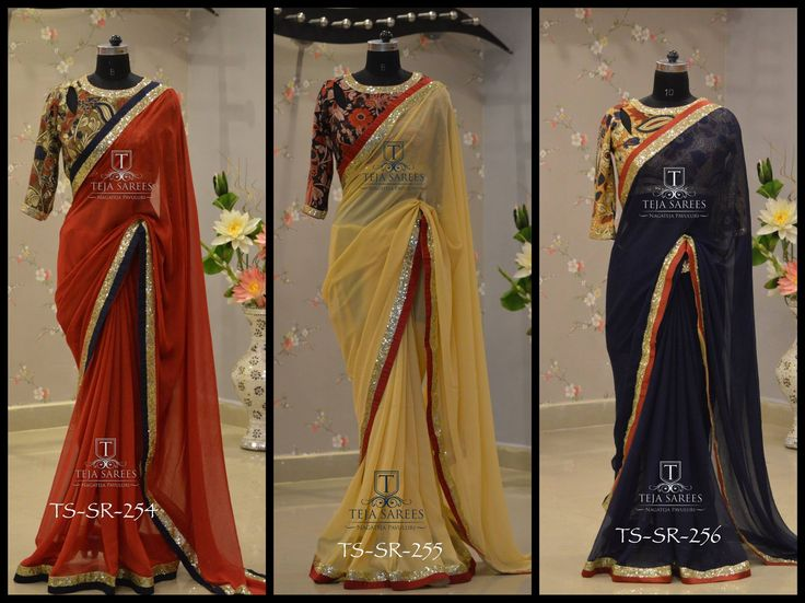 TS-SR-254 255 256 Available For queries/ price details  Whats App us on 8341382382  Reach us on 8790382382 or please mail us at tejasarees@yahoo.com or Inbox us www.tejasarees.com Stay Amazed !! Team Teja !!  tejasarees  LikeNeverBefore  Newdesigns  create  sarees 03 June 2016