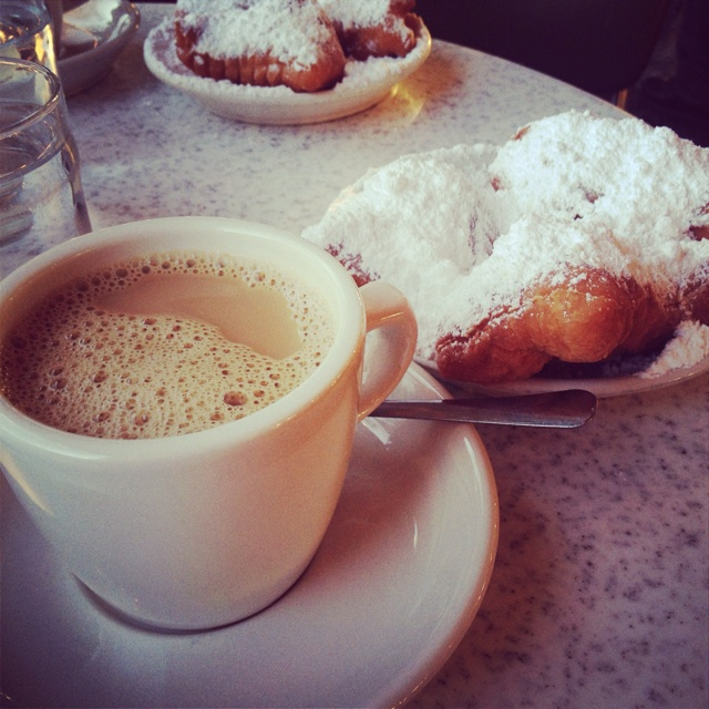 Cafe au Lait and Beignets  Cafe du Monde New Orleans, LA