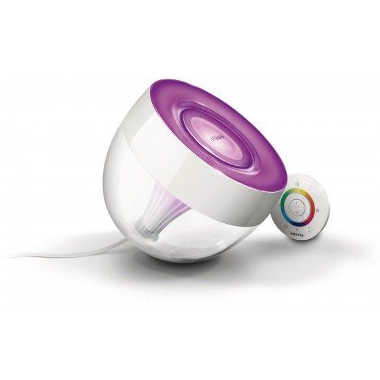 In de Livingcolors is 1 ledlamp van 10 watt bevestigd, dit is vergelijkbaar met 1 gloeilamp van 60 watt.