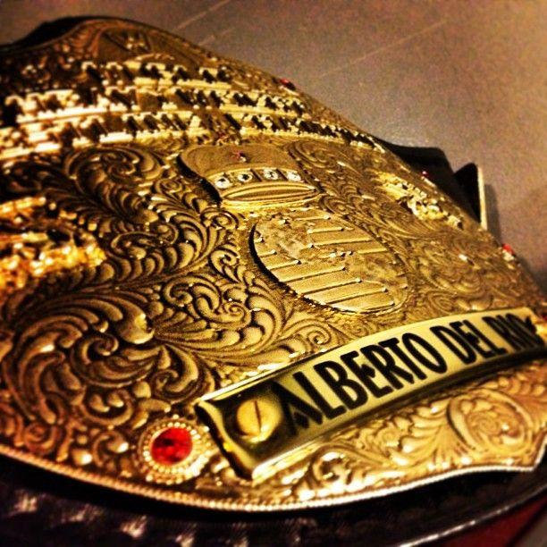 World Heavyweight Champion Alberto Del Rio