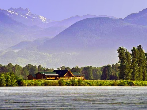 Fraser river lodge british columbia for British columbia fishing lodges
