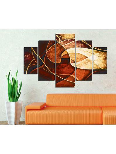 Venta privada Cuadro de 5 piezas Moderno Deco Wall