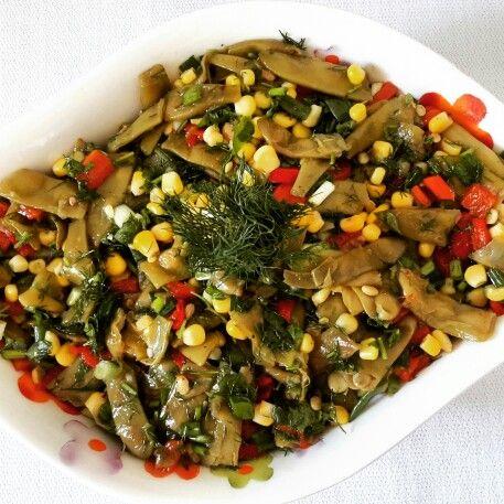 Fasulye salatasi