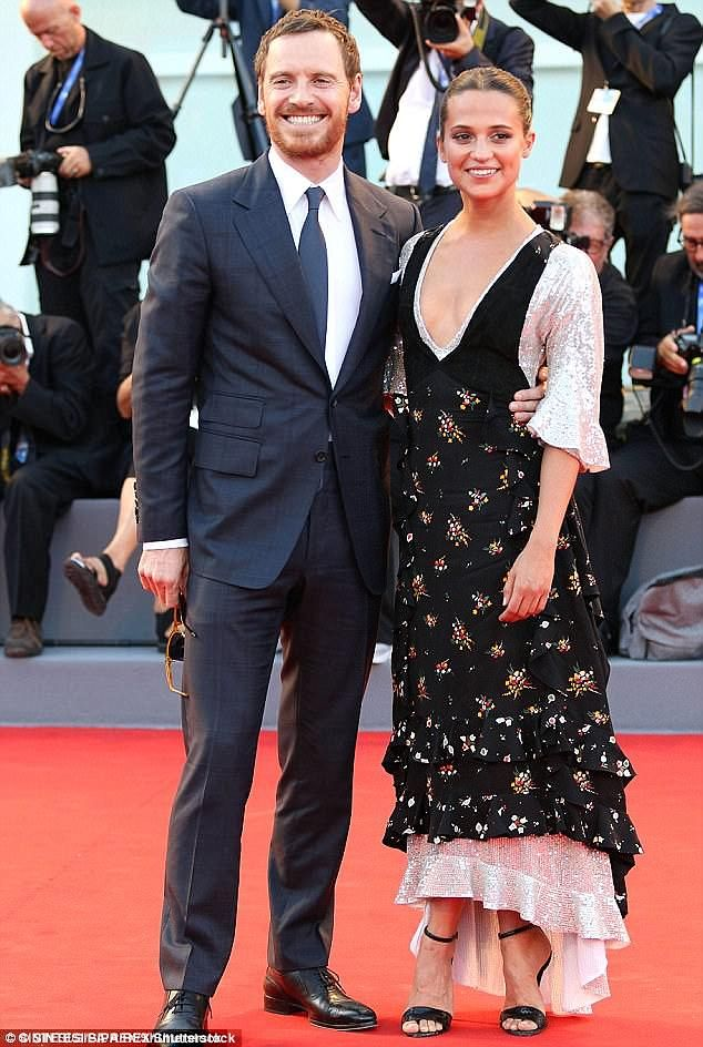 Smitten: The brunette beauty, 28, who won an Oscar in 2016 for her stunning turn in The Danish Girl, is rumoured to be tying the knot with the 300 actor, 40, in a 'party of the year ceremony'