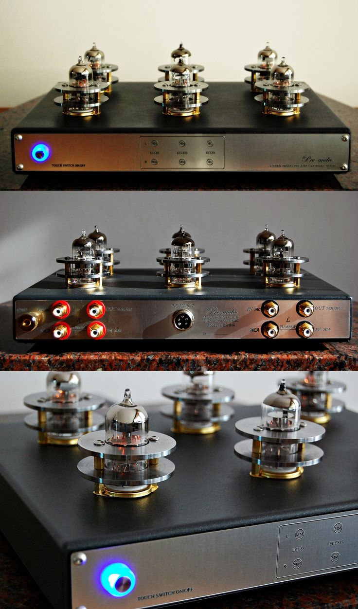 Preamplifier classic PMC-1101N made by pre-audio.com