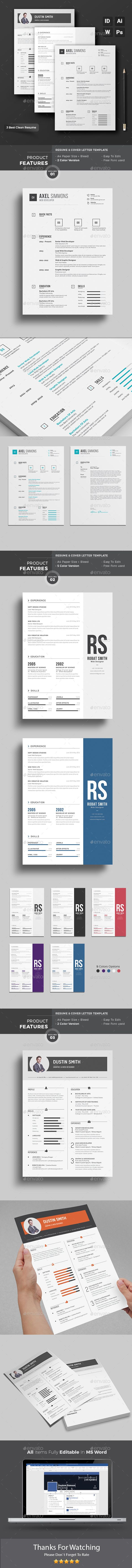 MS Word Resume Creative Cv TemplateModern
