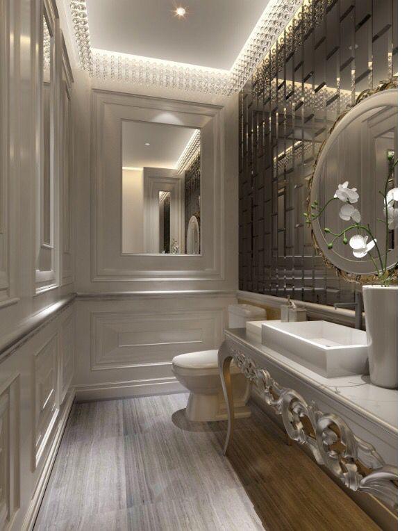glam bathroom @dcbarroso