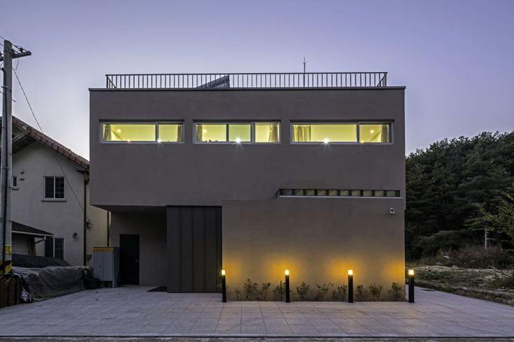 빛의 오케스트라 - 대구 달성군에 자리한 건축가의 철학이 담긴 주택  (출처 Y.Lee)