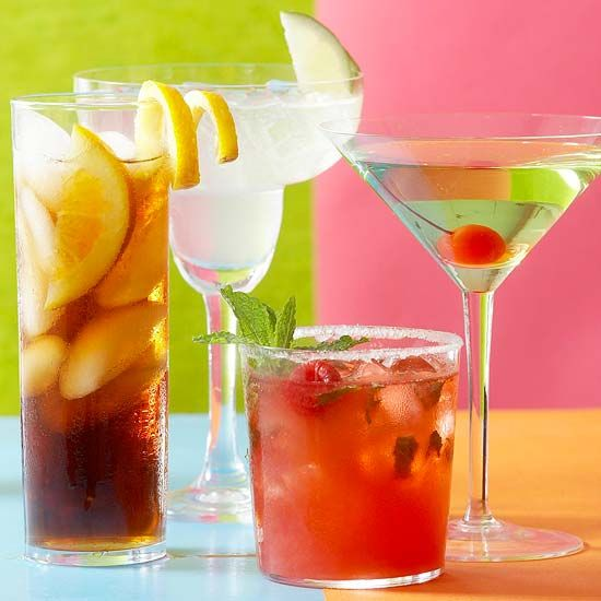 17 best images about cocktails on pinterest simple syrup for Easy alcoholic party drinks