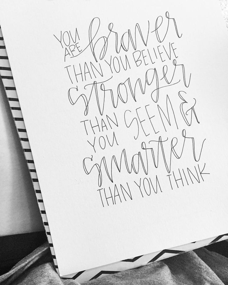374 Best Hand Lettering & Calligraphy Images On Pinterest